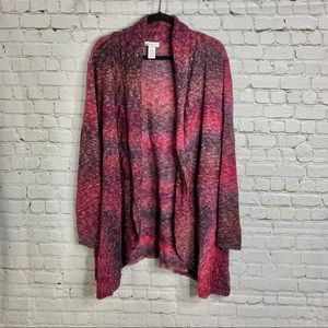 Catherine's Open Front Knit Cardigan Size 3X